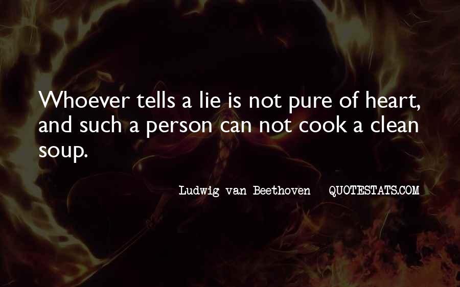 Lie Lie Quotes #19403