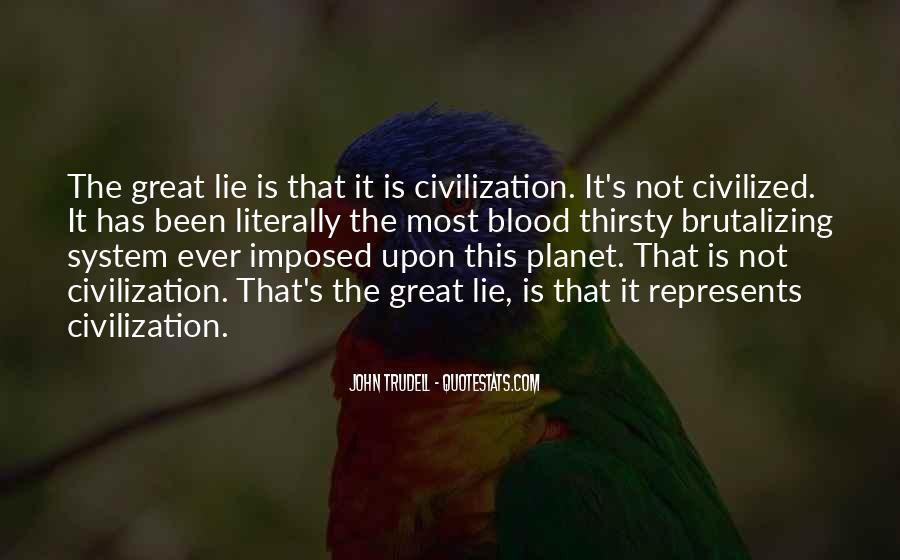 Lie Lie Quotes #2413
