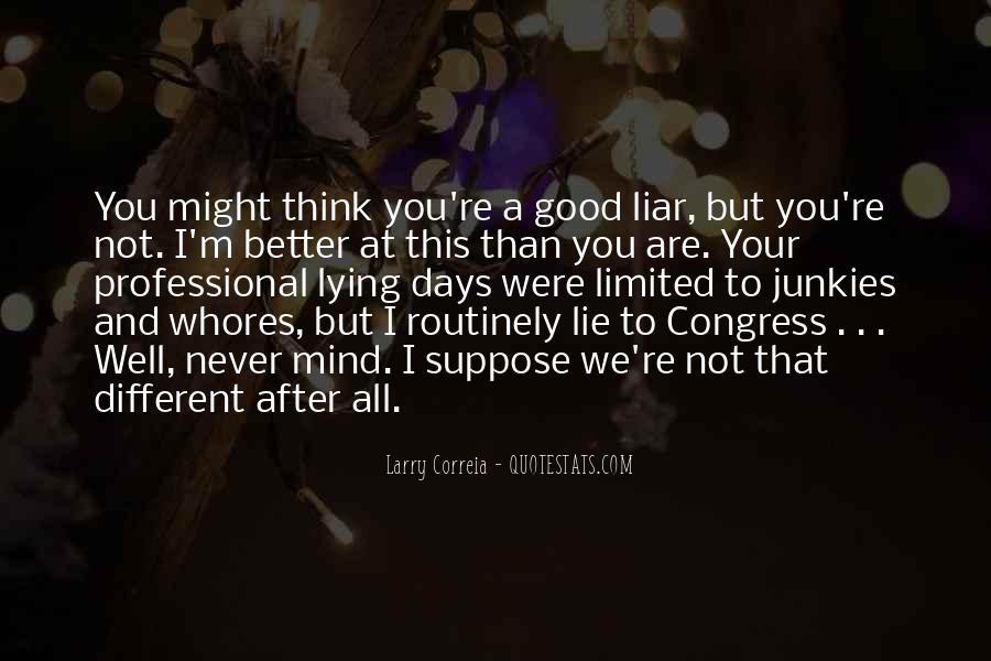 Lie Lie Quotes #3081