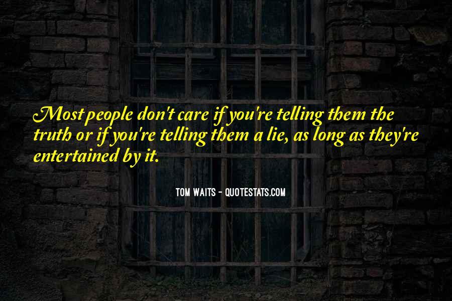 Lie Lie Quotes #5164
