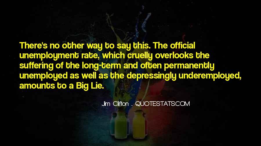 Lie Lie Quotes #5394