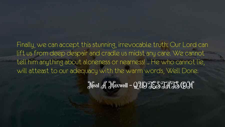 Lie Lie Quotes #5634