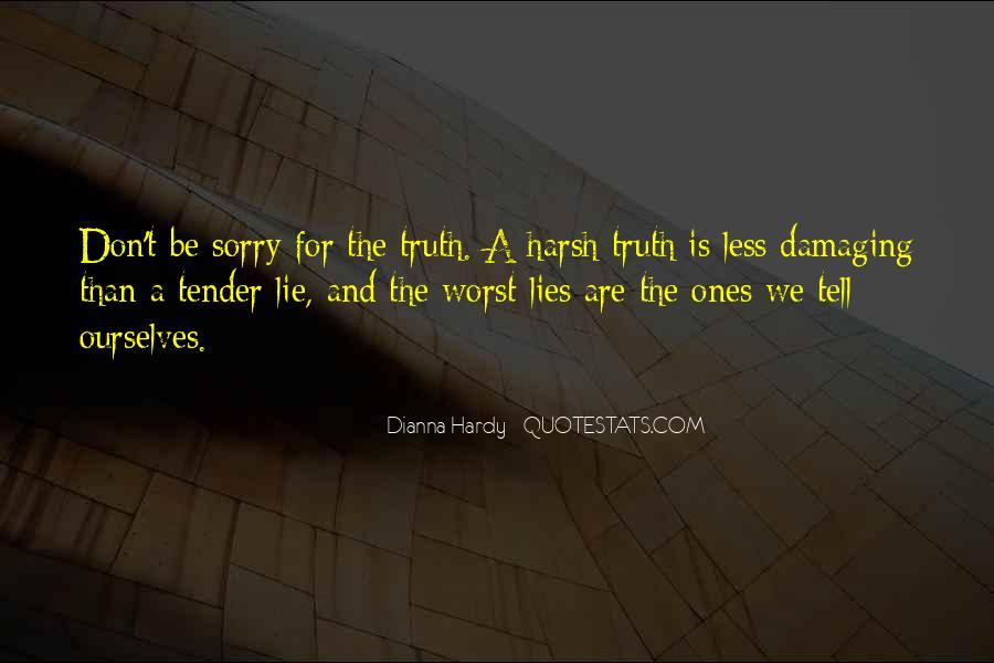 Lie Lie Quotes #7772