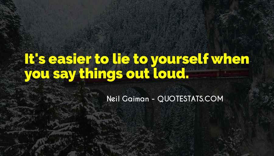Lie Lie Quotes #8906