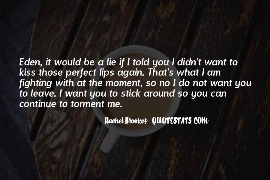Lie With Me Quotes #29178
