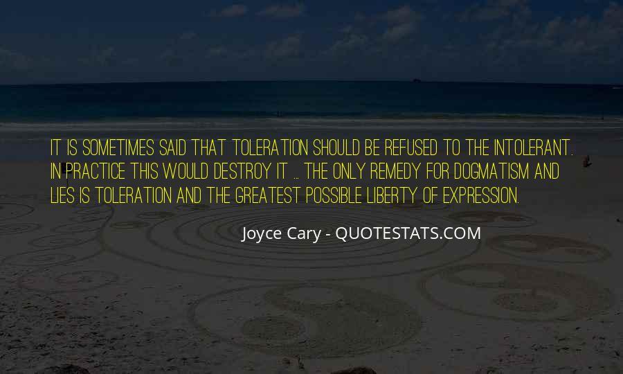 Lies Destroy Quotes #1332165