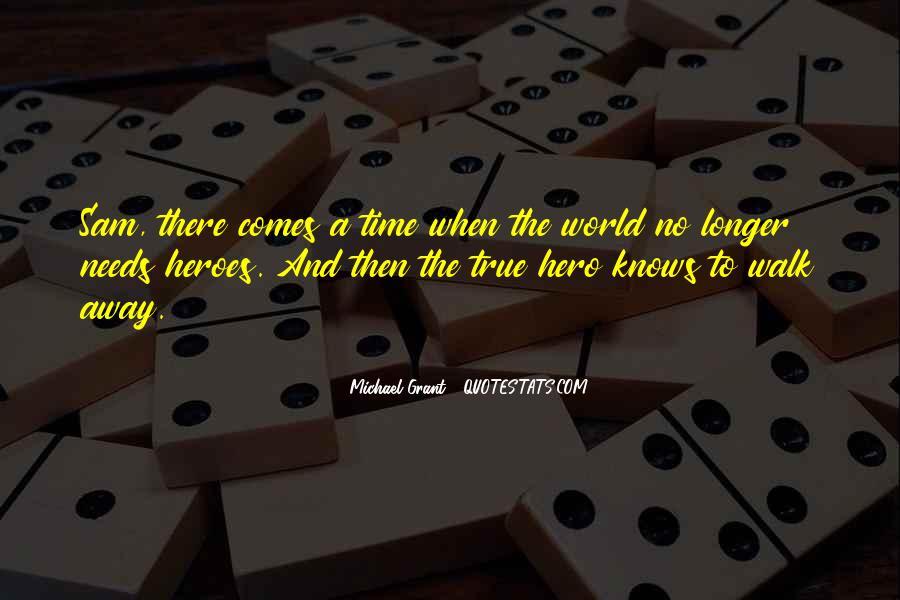 Lies Michael Grant Quotes #573130
