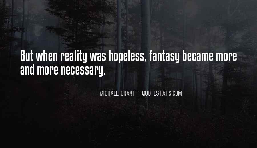 Lies Michael Grant Quotes #797205