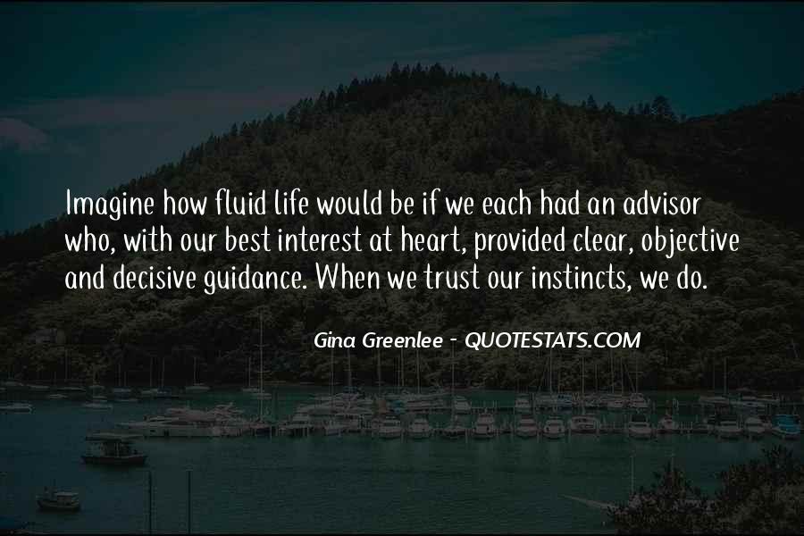 Life Advisor Quotes #1597737
