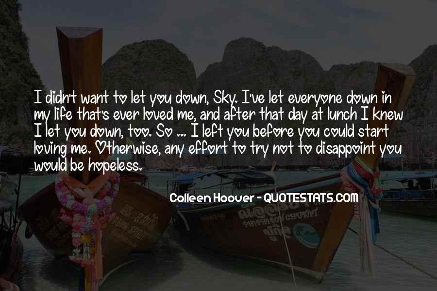 Life After You Quotes #144910