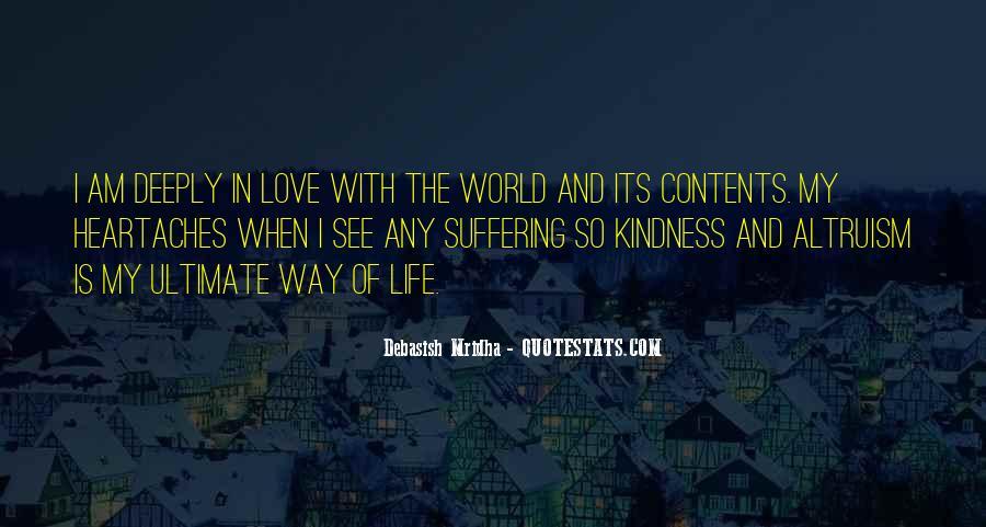 Life Altruism Quotes #544960