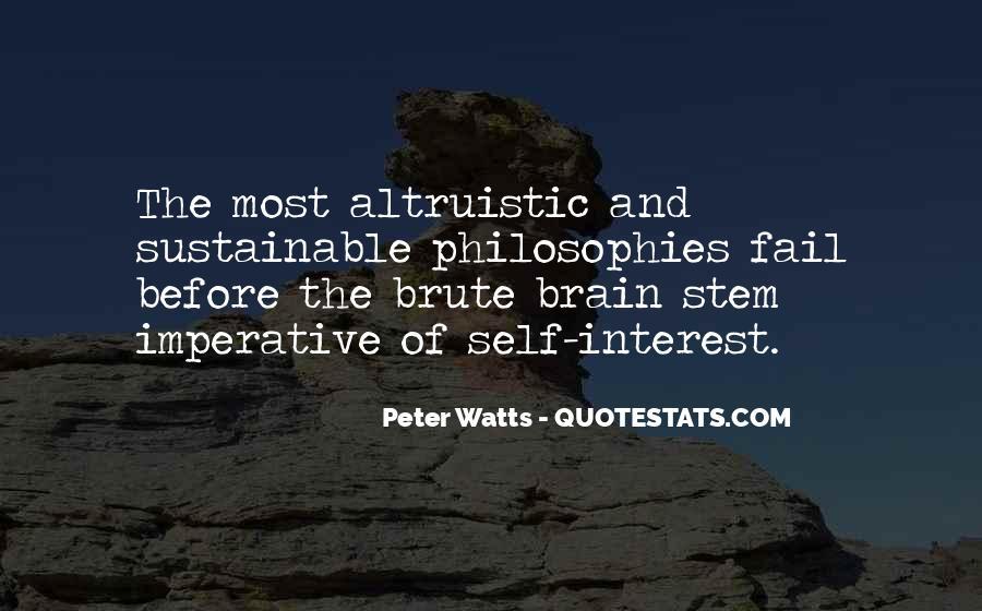Life Altruism Quotes #645785