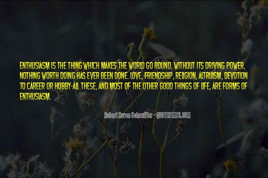 Life Altruism Quotes #852598