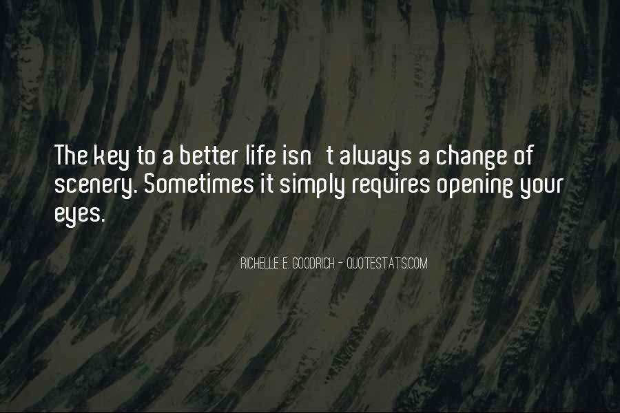 Life Always Changes Quotes #1232984