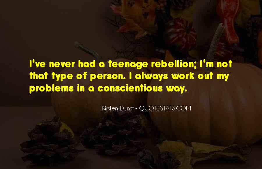 Quotes About Teenage Problems #1566374