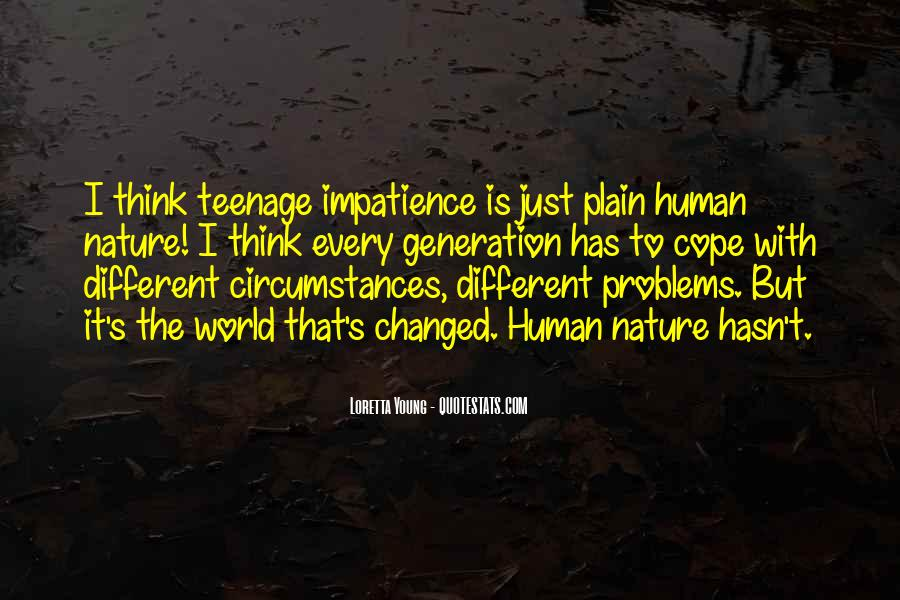 Quotes About Teenage Problems #1779114