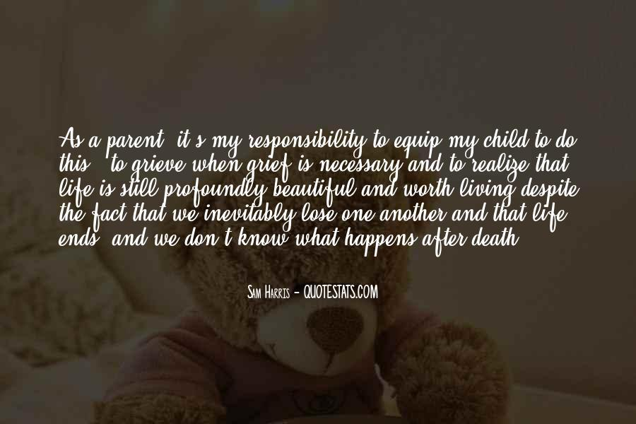 Life As A Parent Quotes #1313206