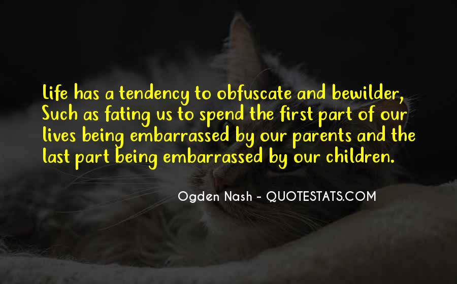 Life As A Parent Quotes #51327