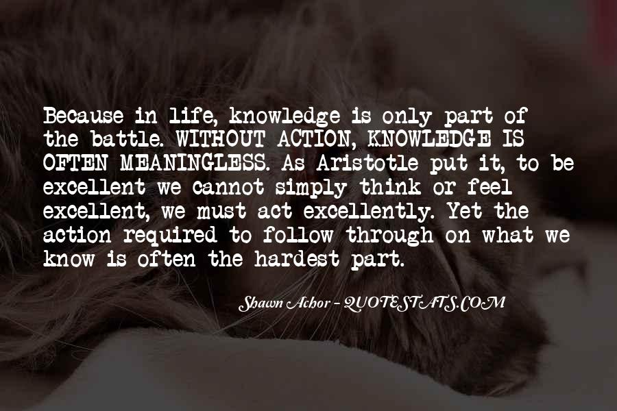 Life As We Know It Quotes #1263069