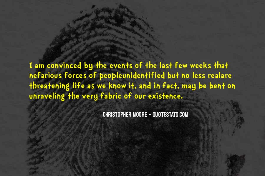Life As We Know It Quotes #1288706