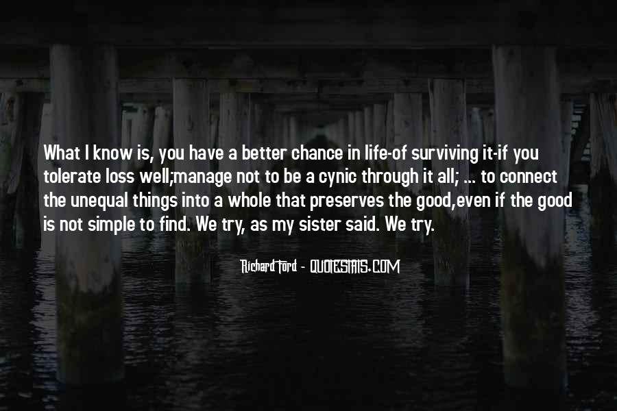Life As We Know It Quotes #822461