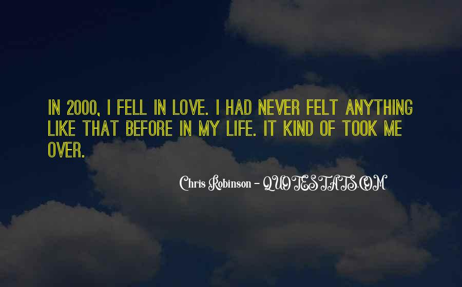 Life Before Love Quotes #163055