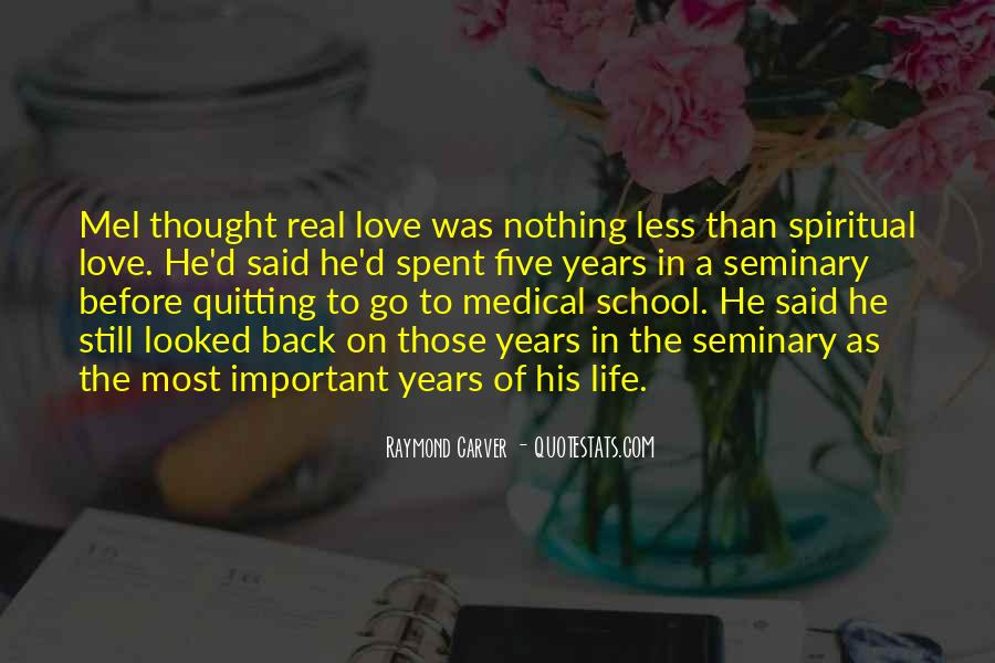 Life Before Love Quotes #451815