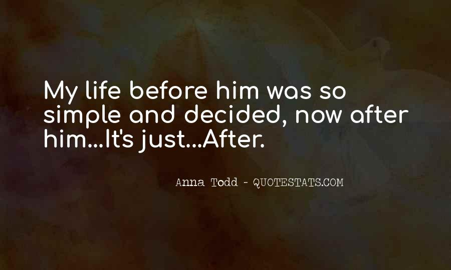 Life Before Love Quotes #65378