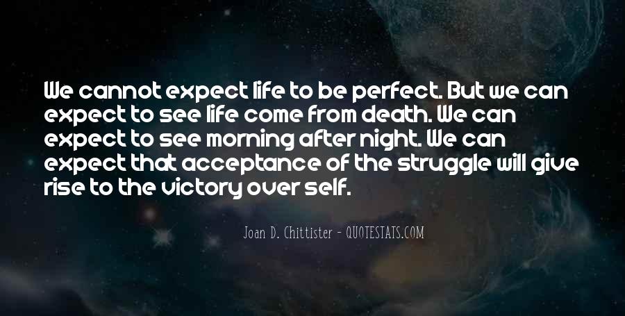 Life Can't Be Perfect Quotes #623959