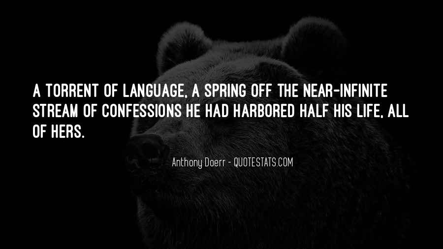 Life Confessions Quotes #1331535