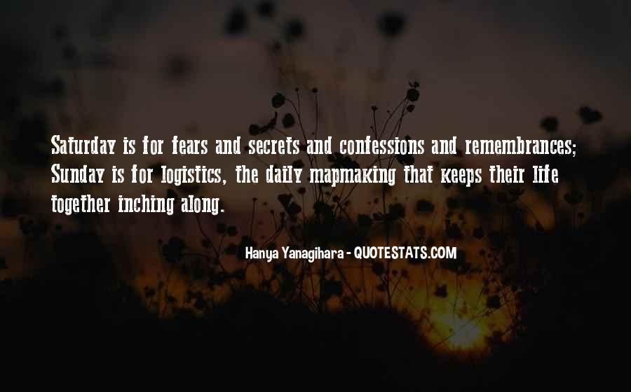 Life Confessions Quotes #28385
