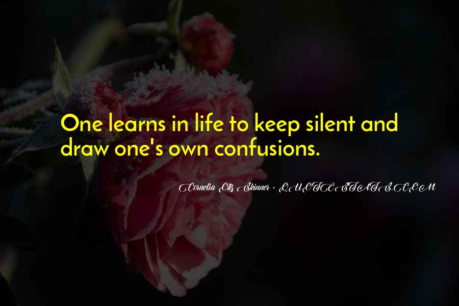 Life Confusions Quotes #334141