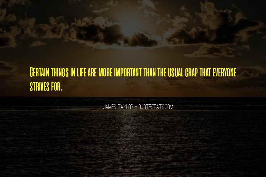 Life Crap Quotes #1076340