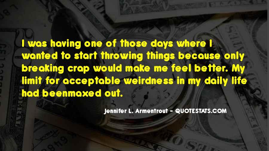 Life Crap Quotes #1107026