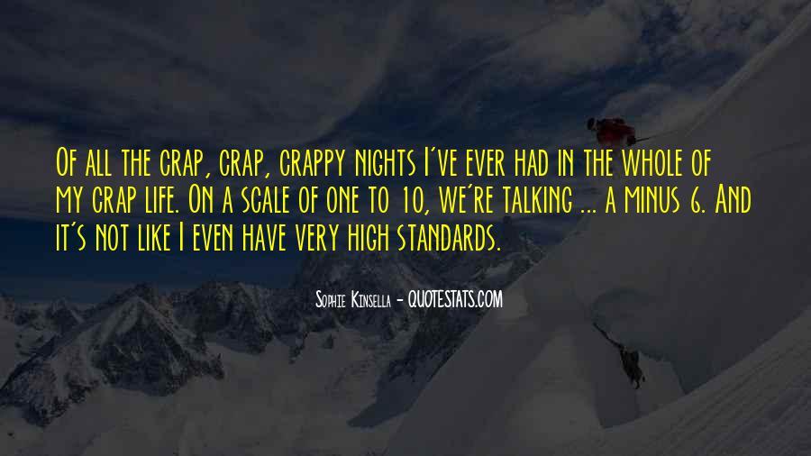 Life Crap Quotes #1840828