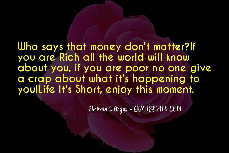 Life Crap Quotes #873742