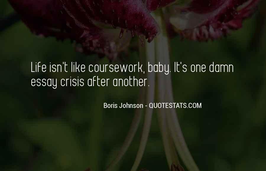 Life Crisis Quotes #1007083