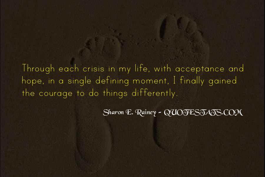 Life Crisis Quotes #1014378
