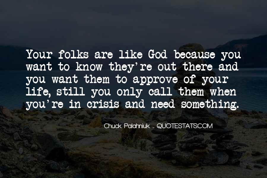 Life Crisis Quotes #159641