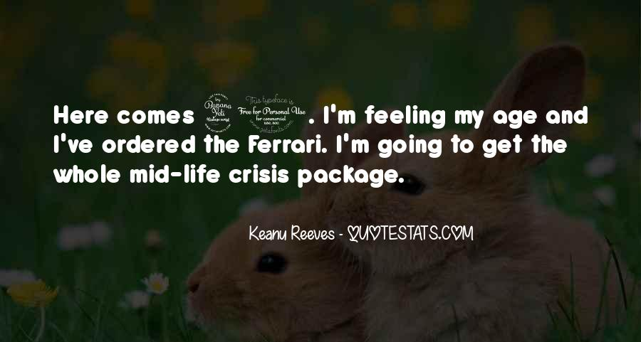 Life Crisis Quotes #536031