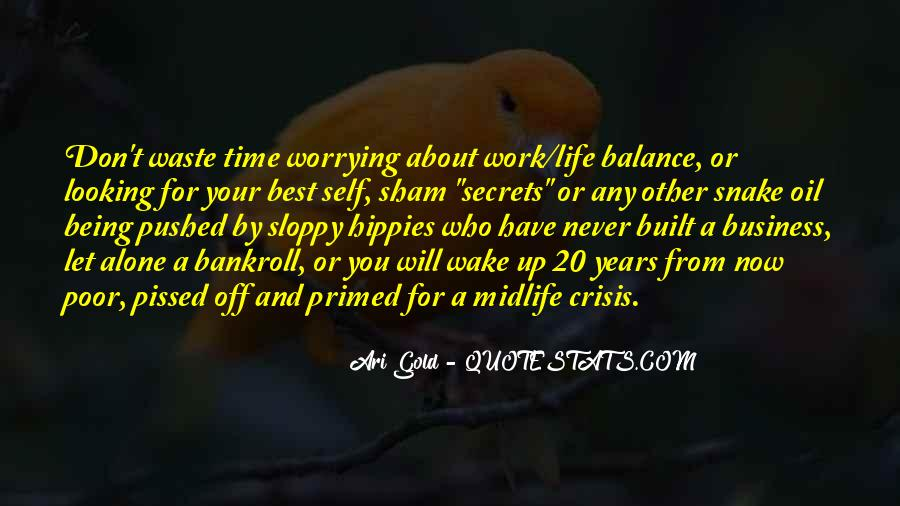 Life Crisis Quotes #732142