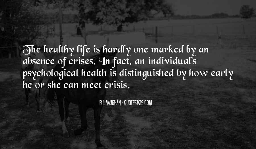 Life Crisis Quotes #805725
