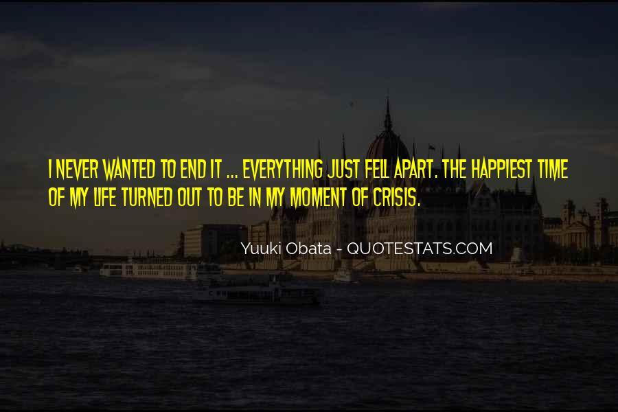Life Crisis Quotes #845146