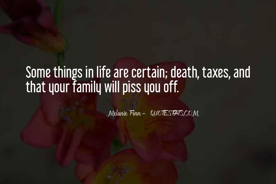 Life Death Family Quotes #1223671