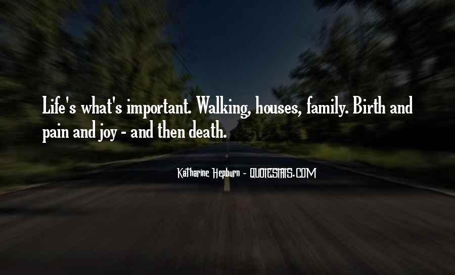 Life Death Family Quotes #1643249
