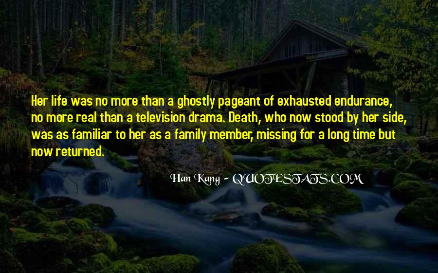 Life Death Family Quotes #1820530