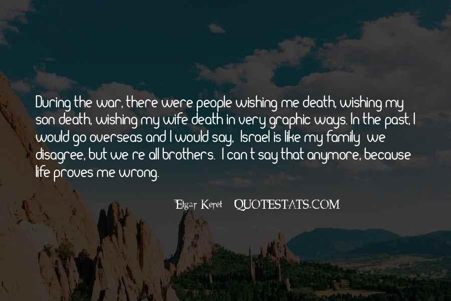 Life Death Family Quotes #830023