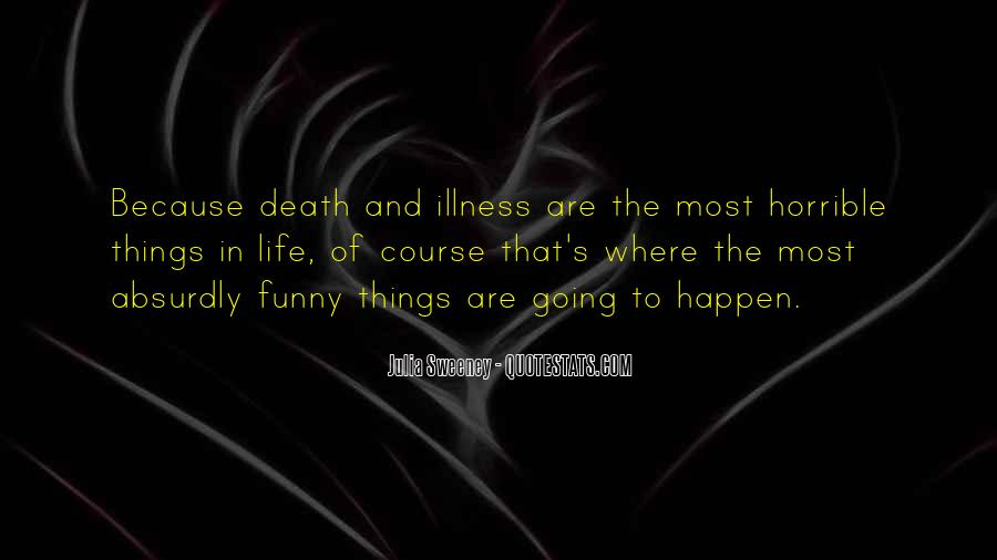 Life Death Funny Quotes #120933