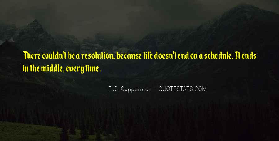 Life Doesn End Quotes #1023737