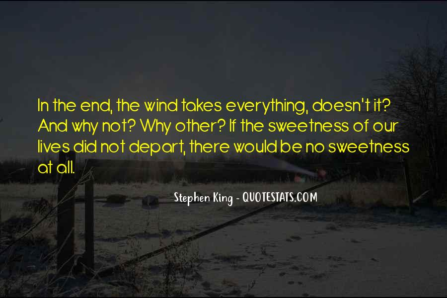 Life Doesn End Quotes #1296689